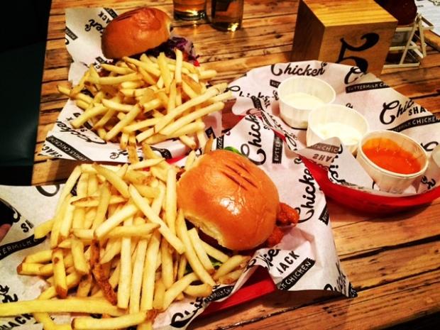 Chicken Shack at the Love Inn